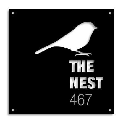The Nest | Plasma cut signs and artwork in Spain by Plasma Wizard