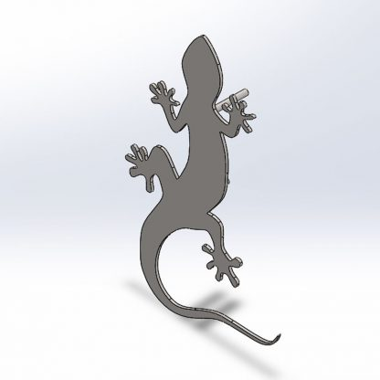 The 3 Amigos Geckos | Plasma cut signs, house names and artwork | Plasma cutting services Spain