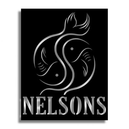 Nelson Gastro Pub | Plasma Cut Artwork and Services | Menorca Spain