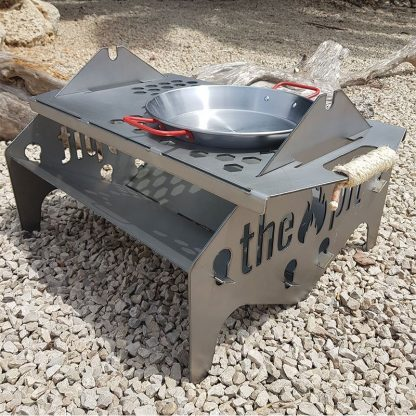 2 Person Fire Pit or Patio BBQ | Made in Spain | Plasma Wizard