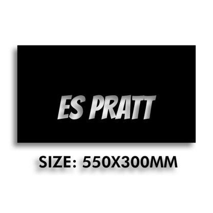 Es Pratt | CNC Plasma Cut House Sign | Menorca Spain