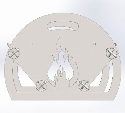The Magazine Fire Pit | DXF Files for Plasma Cutting