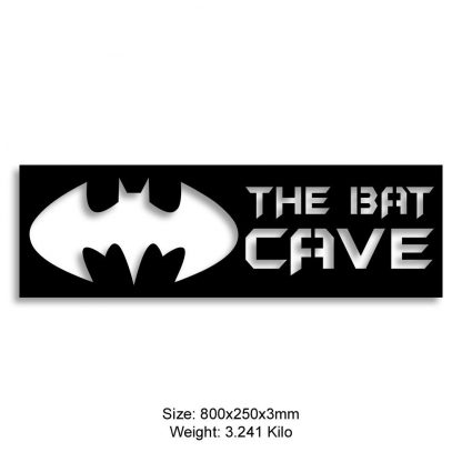 The Bat Cave house sign or nameplate | Plasma Cut signs Menorca