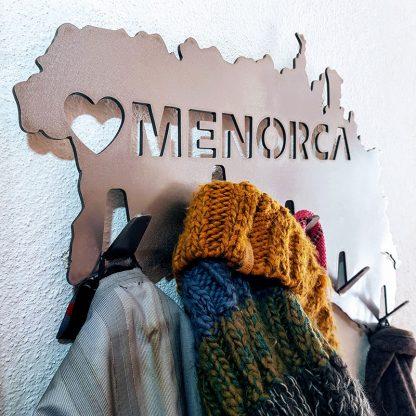 Menorca metal hat and coat rack | Metal signs by Plasma Wizard