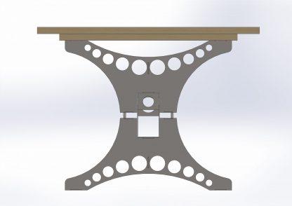 Dining table leg set   DXF Files for Plasma cutting