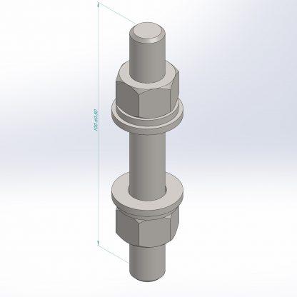 Dining table leg set | DXF Files for Plasma cutting