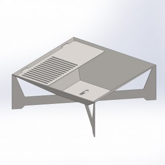 Pyramid Fire Pit | DXF Files for Plasma cutting