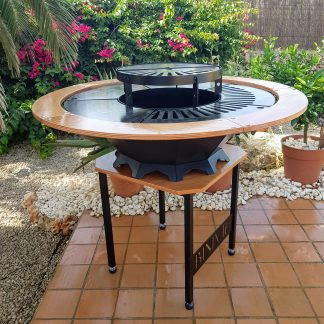 The GRAND | Fire Pit Stove by PlasmaWizard.eu Menorca Spain